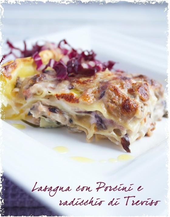 LK_Lasagne con porcini e radicchio rosso