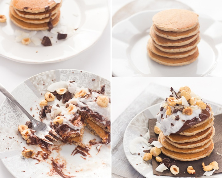 Latokitchen.ricette vegan.pancake nocciola e cocco bis