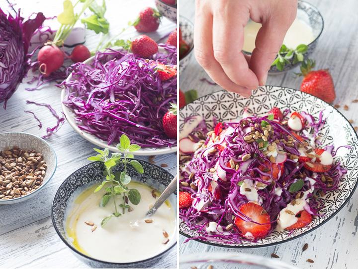 LK_Insalata di cappuccio e fragole_ricetta vegan bis